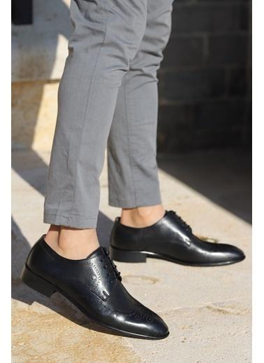 Ayakland Ayakland P216 %100 Deri Klasik Erkek Ayakkabı Siyah